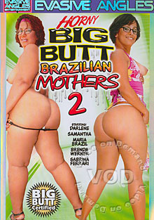Horny Big Butt Brazilian Mothers 2 Box Cover