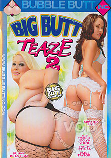 Big Butt Teaze 2 Box Cover