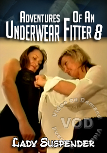 Adventures Of An Underwear Fitter 8 Box Cover