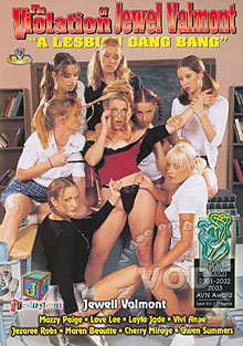 The Violation Of Jewel Valmont - A Lesbian Gang Bang Box Cover