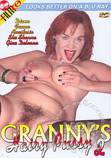 Granny's Hairy Pussy #2 Box Cover