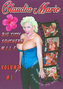 Big Titty Southern M.I.L.F. Volume #1 Box Cover