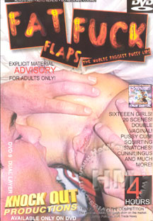 Fat Fuck Flaps - The World's Biggest Pussy Lips Box Cover