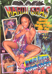 Black Mardi Gras - Black Girls Going Crazy Box Cover