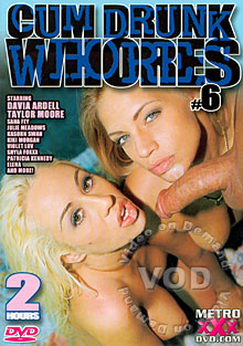 Cum Drunk Whores #6 Box Cover