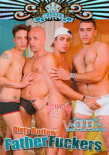 Dirty Rotten Father Fuckers Box Cover