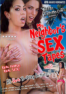 My Neighbor's Sex Tapes 3 Box Cover