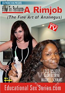 How To Perform A Rimjob (The Fine Art Of Analingus) Box Cover