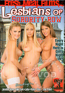 Lesbians Of Sorority Row Box Cover