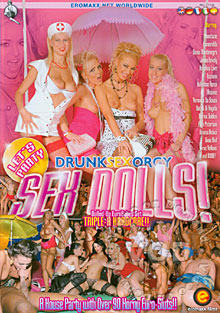 Drunk Sex Orgy - Sex Dolls! Box Cover