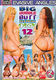 Big Bubble Butt Brazilian Orgy 12 (Disc 1) Box Cover