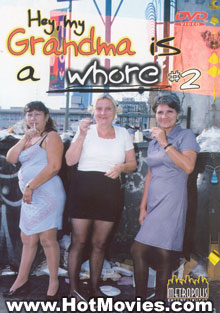 Hey, My Grandma Is A Whore #2 Box Cover