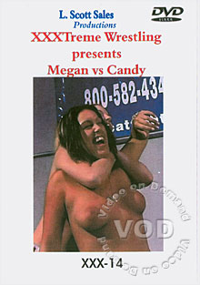 XXX-14: Megan Vs Candy Box Cover