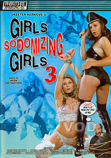 Girls Sodomizing Girls 3 Box Cover