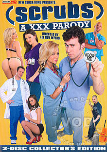 Scrubs - A XXX Parody Box Cover