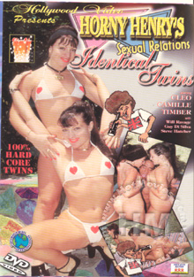 Horny Henry's Sexual Relations - Identical Twins Box Cover