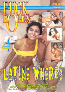 Fuck Holes - Latino Whores Box Cover