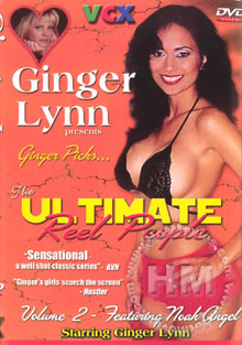 Ginger Lynn's Ultimate Reel People Volume 2 Box Cover