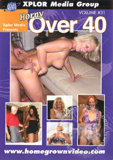 Horny Over 40 Volume #31 Box Cover