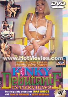 Kinky Debutante Interviews Volume #1 Box Cover