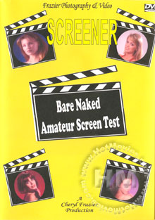 Bare Naked Amateur Screen Test Box Cover