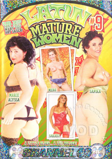 Latin Mature Women #9 Box Cover