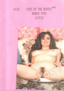 Cunt Of The Month! March 1992 - Alicia