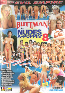Buttman At Nudes A Poppin' 8 Box Cover