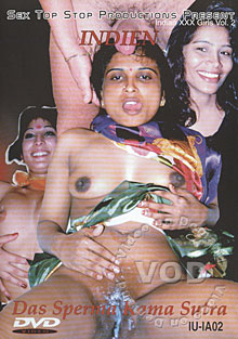 Indian XXX Girls Vol. 2 - Das Sperma Kama Sutra Box Cover