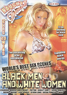 World's Best Sex Scenes: Black Men And White Women Box Cover
