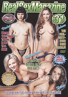 Real Sex Magazine 31 - All Anal Edition! Box Cover