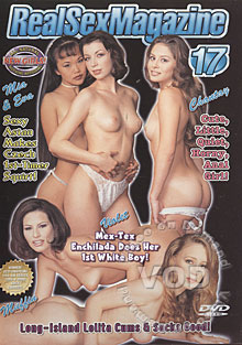 Real Sex Magazine 17 Box Cover