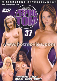 The Video Adventures of Peeping Tom #37 Box Cover