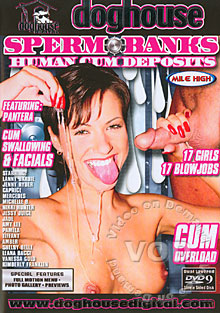 Sperm Banks Human Cum Deposits Box Cover