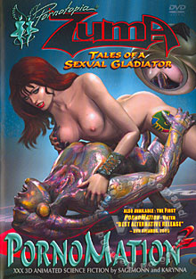 PornoMation 2 - Zuma: Tales Of A Sexual Gladiator Box Cover