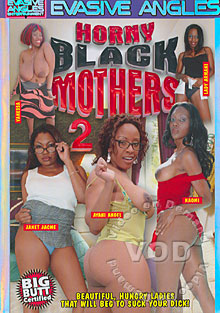 Horny Black Mothers 2 Box Cover