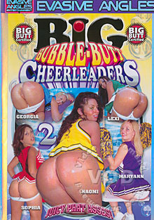 Big Bubble-Butt Cheerleaders 2 Box Cover