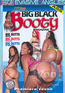 Miss Big Black Booty Magazine Box Cover