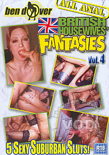 British Housewives' Fantasies Vol. 4 Box Cover