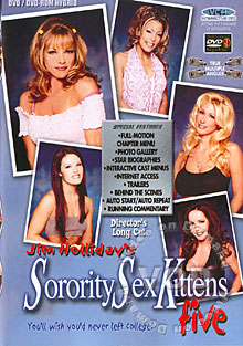 Sorority Sex Kittens Five Box Cover