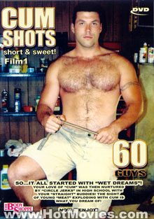 Cum Shots: Short & Sweet! Film 1 Box Cover