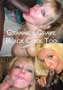 Grannies Crave Black Cock Too Box Cover