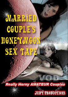 Married Couple's Honeymoon Sex Tape Box Cover