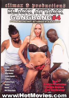 Black Attack Gangbang #4 Box Cover
