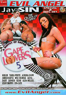 Gape Lovers 5 (Disc 2) Box Cover