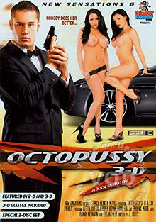 Octopussy - A XXX Parody Box Cover