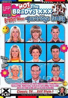 Not The Bradys XXX - Bradys Meet The Partridge Family Box Cover