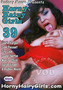 Horny Hairy Girls 39 Box Cover