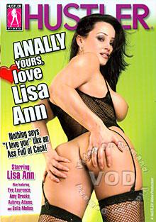 Anally Yours, Love Lisa Ann Box Cover