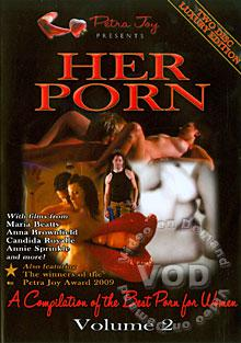 Her Porn Volume 2 (Disc 1) Box Cover